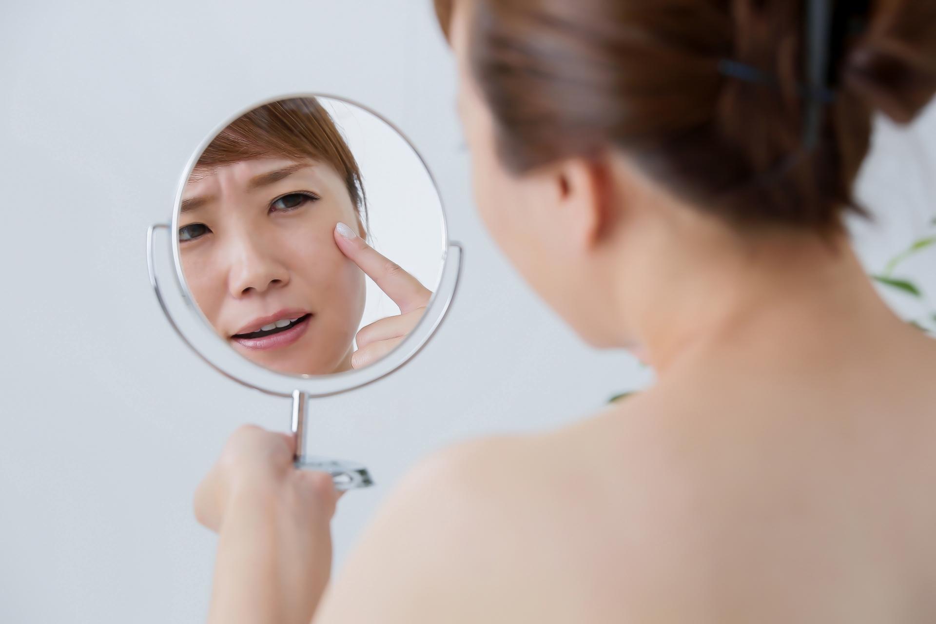 乾燥による肌トラブル